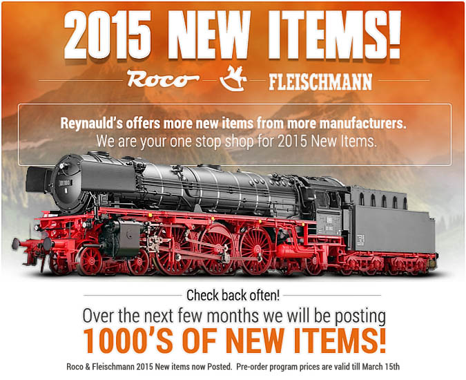 2015 NEW ITEMS ARE HERE!