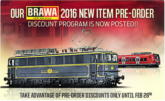 New Brawa 2016 items!