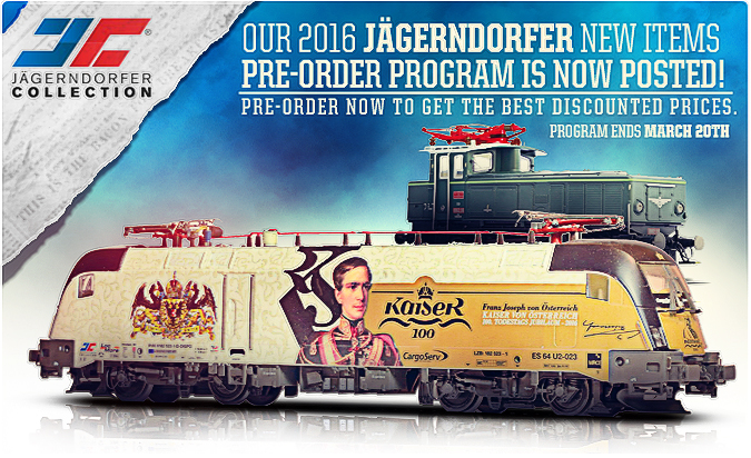 Jagerndorfer 2016 New Items!