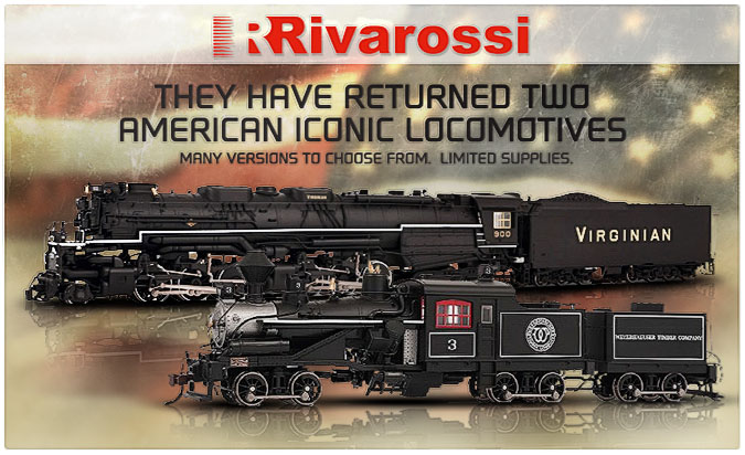 USA Locomotives - Rivarossi