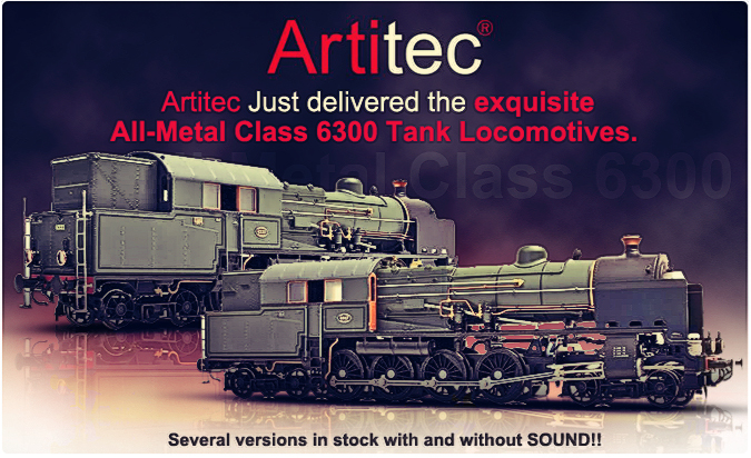 Artitec all metal class 6300 Tank Locomotive