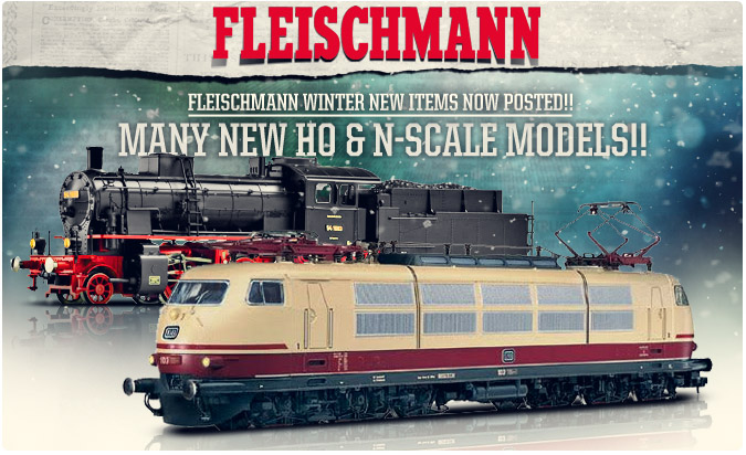 Fleischmann New Winter Items!