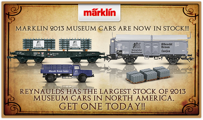Reynaulds has the largest stock of 2013 Museum Cars in North America, GET ONE TODAY!!