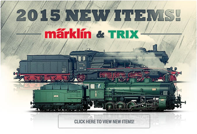 Marklin and Trix have announced 2015 new items!