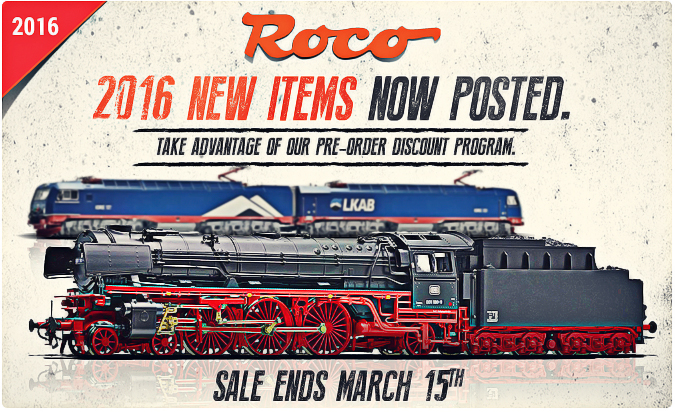 New Roco 2016 items!