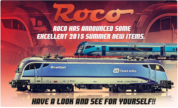 Roco New 2015 summer items!