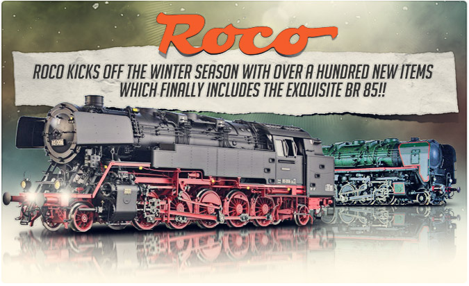 Roco New Winter Items!