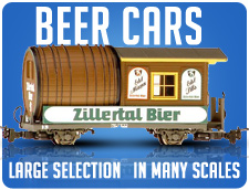 Beer Cars!!! Large Selection in many scales!!